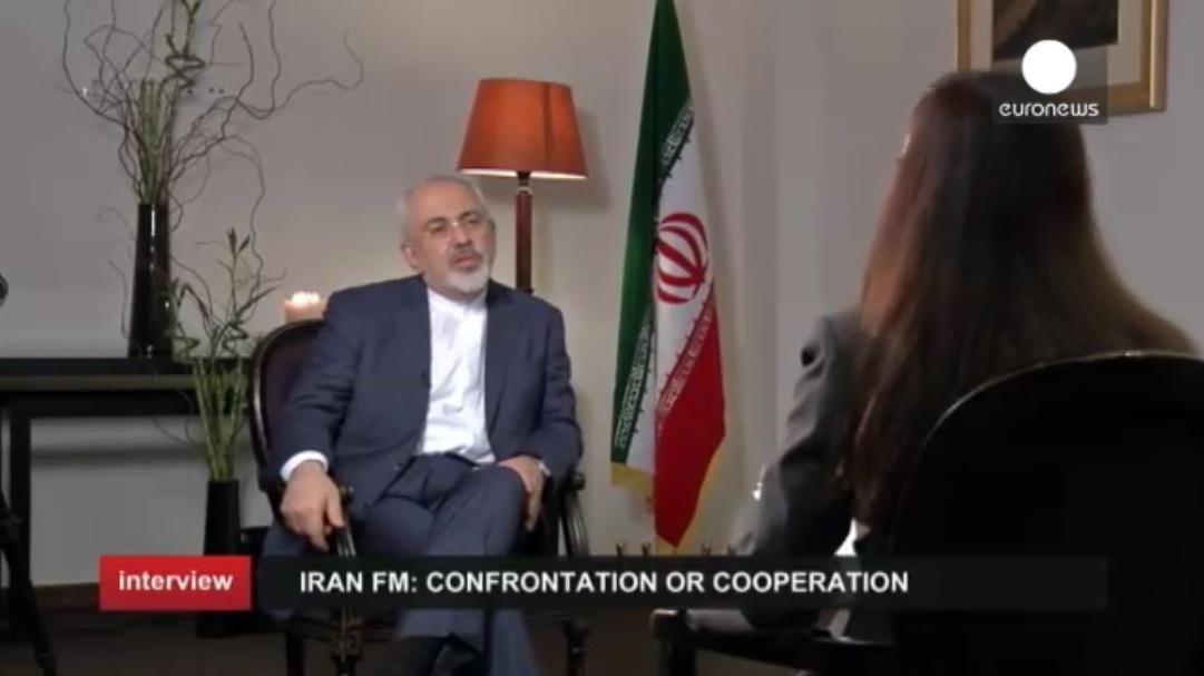 مصاحبه محمد جواد ظریف با ریحانه مظاهری در یورونیوز